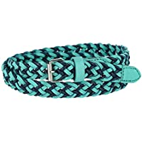Xcessoire Girl's Two Tone Braided Belt