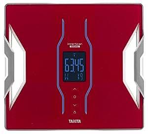 タニタ 体重・体組成計 インナースキャンデュアル スマホ対応 レッド RD-903-RD
