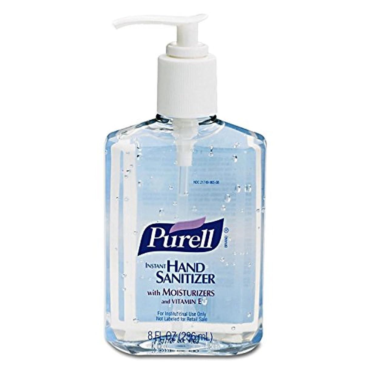 札入れリッチバラ色PURELL Instant Hand Sanitizer, 8-oz. Pump Bottle by Purell