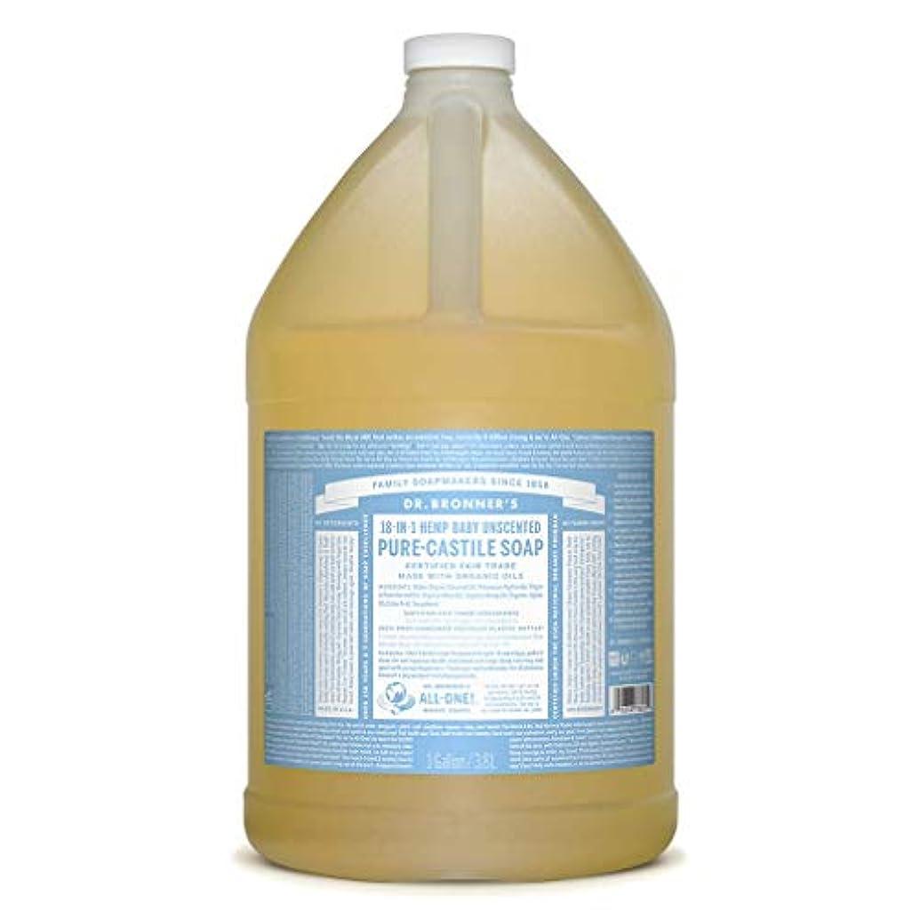物理ガム規制ドクターブロナー マジックソープ液体 ベビーマイルド 3785ml