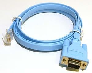 Cisco Systems Cisco RJ-45 DB-9 シリアルケーブル 72-3383-01 シスコ純正品