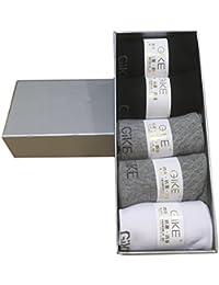 靴下 メンズ ソックス 無地 抗菌 防臭 銀イオン ビジネス 快適な履き心地 5足セット 3色 グレー ホワイト ブラック Seranier