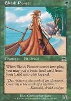 Magic: the Gathering - Elvish Pioneer - Onslaught