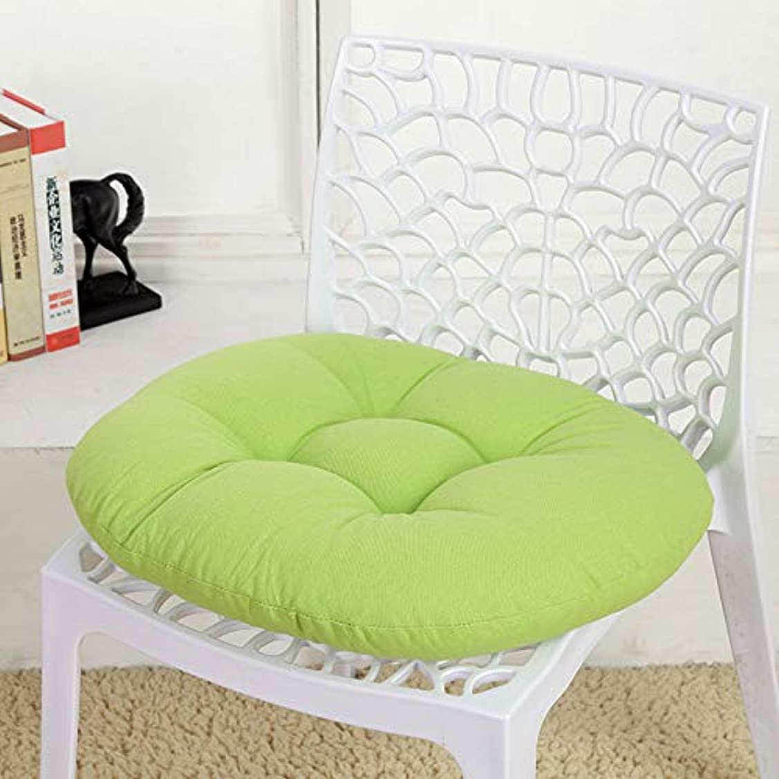 落ち込んでいる命令的アナロジーLIFE キャンディカラーのクッションラウンドシートクッション波ウィンドウシートクッションクッション家の装飾パッドラウンド枕シート枕椅子座る枕 クッション 椅子
