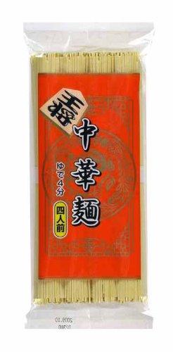 王将 中華麺 4人前 320g