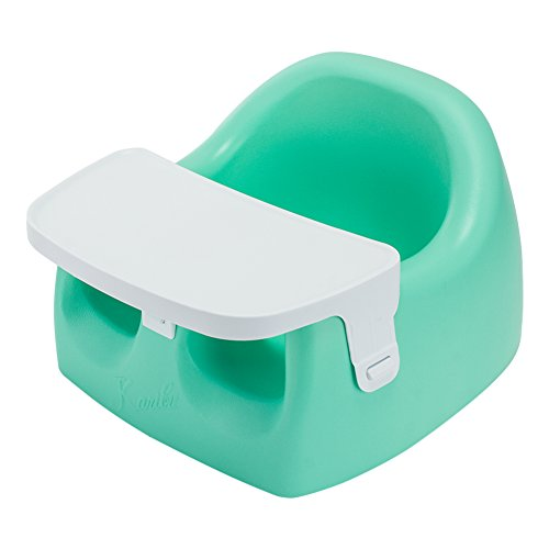 [ カリブ ] KARIBU ベビーチェア 3ヶ月~14ヶ月 ソフトチェアー トレイセット(トレイ付) PM3386 ターコイズ Karibu Seat with plastic Tray Turqoise