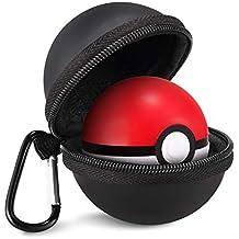 モンスターボールPlus用 ハードポーチKINGTOPモンスターボール Plus 用 収納ケース EVAポーチ コンパクト(黒)