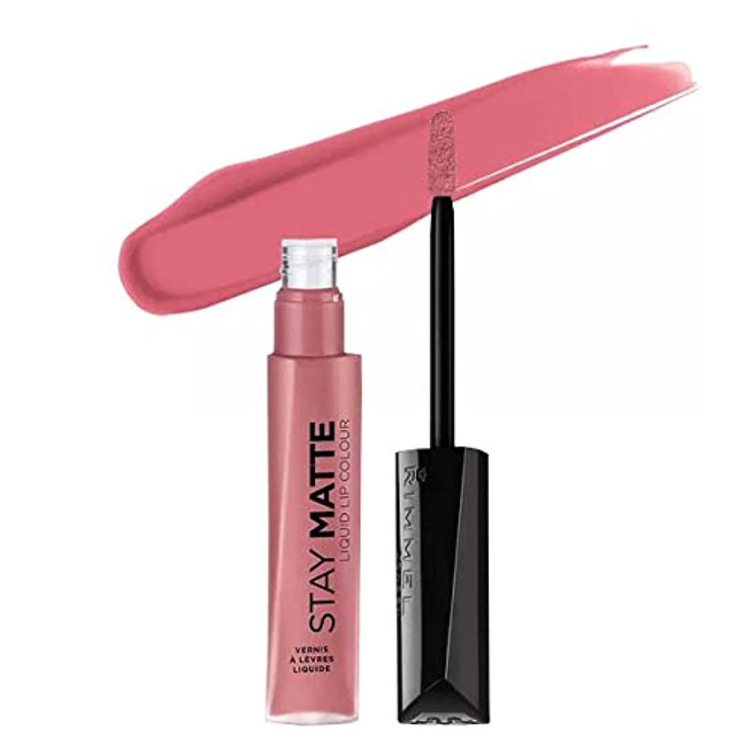 発表意識的おかしい(3 Pack) RIMMEL LONDON Stay Matte Liquid Lip Color - Blush (並行輸入品)
