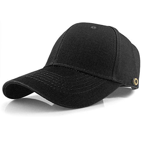 キャップEasiness 無地 男女兼用 帽子 バックルで調...