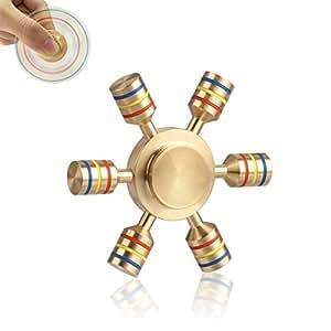 Hand Spinner Fidget Spinner 指スピナー GOSE セラミックのボールベアリング ストレス解消 おもちゃ 子供も大人も適合 (ゴールド)