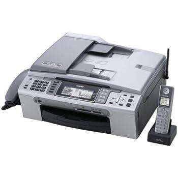 Brother A4インクジェットFAX複合機 MyMIO MFC-880CDN デジタル子機1台 6000×1200dpi