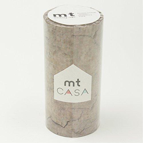 カモ井加工紙 マスキングテープ mt CASA 100mm幅×10m巻き テクスチャ MTCAS010