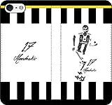 iPhone/Xperia/Galaxy/他機種選択可:サッカー/グラフィティ手帳ケース(デザイン:ユベントス/17番_01) 04 iPhone6Plus/6sPlus