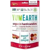 YumEarth オーガニックハードキャンディー フルーツ 3.3 oz (93.5 g)[海外直送品]