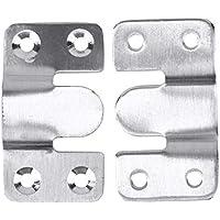 Hillrong ドアバックル E型 多機能 ドアと窓用 耐久性を持っている 高品質 便利 ステンレス鋼製 丈夫 固い(2)