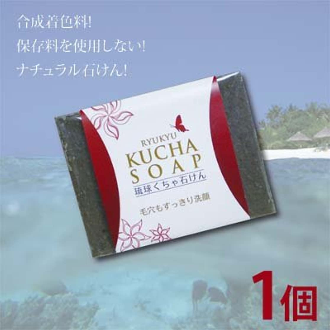 レジデンスカンガルー意気込み沖縄産琉球クチャ石けん1個(120g)