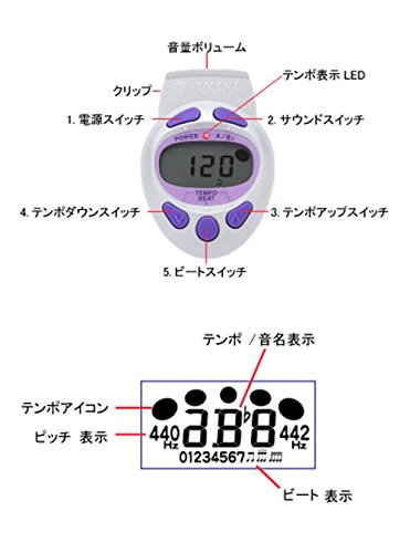 YAMAHA(ヤマハ)『電子メトロノーム(ME-55PK)』
