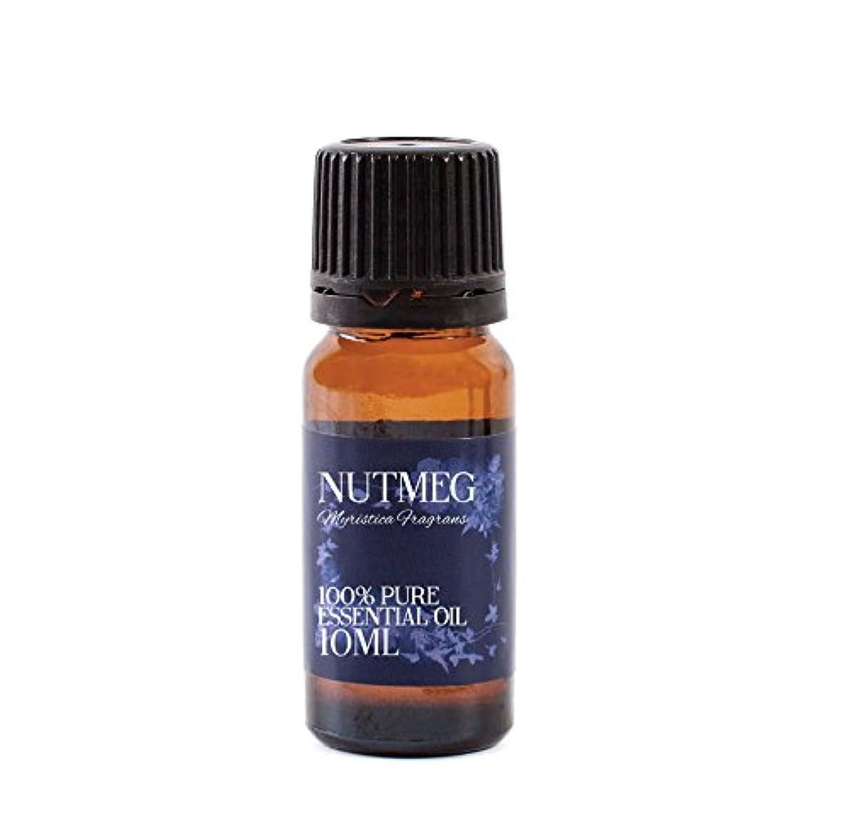 聞く飼いならす化学者Mystic Moments   Nutmeg Essential Oil - 10ml - 100% Pure