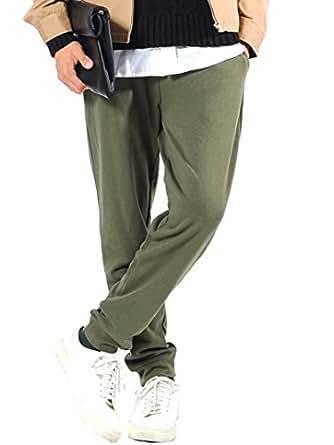 (スペイド) SPADE スウェットパンツ メンズ ジョガーパンツ カーゴパンツ スリム【e286】(S,ジョガー×オリーブ)