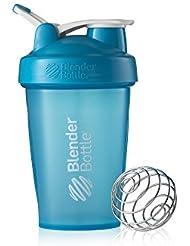 Blender Bottle Classic Loop Top Shaker Bottle, 20-Ounce, Aqua/Aqua