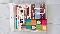 Hankyu Denshaサクラクーピーペンシル12色セット&オリジナルスケッチブック阪急電車オリジナルグッズ+ポストカード