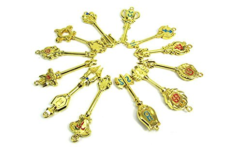 Cosplay tools, accessories and FAIRY TAIL (fairy tale) stars Lucy spirit key set 18