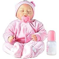 PKJOkmjko 全部のシリコーンゴムの人形の生まれ変わりな女の子の人形22寸55センチ迫真姫の子供のおもちゃの子供の誕生日の贈り物