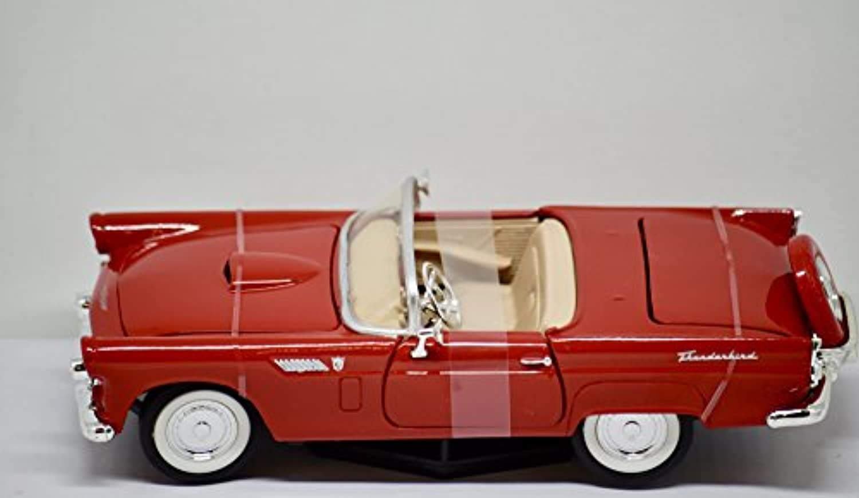 Americanミント – Premium Edition – 1956フォードサンダーバードコンバーチブル(レッド) – 1 : 24スケールDie Cast Metal – New