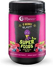Nutra Organics C Berry Blast Super Foods Powder for Kidz 100 g, 100 grams
