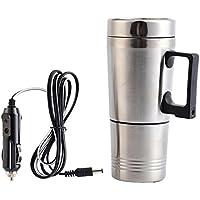 MECCION ステンレス ボトル電気ケトル 車載 保温 ボトル 12V車専用 シガーライター カーポット! 容量300ml 車中泊、お仕事に! カップラーメンに! コーヒーに! 乳児のミルク作りに!