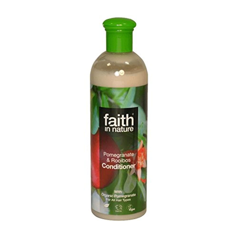 Faith in Nature Pomegranate & Roobios Conditioner 400ml (Pack of 2) - 自然ザクロ&Roobiosコンディショナー400ミリリットルの信仰 (x2) [...