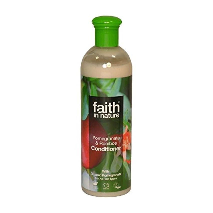 ペグ感嘆剥ぎ取るFaith in Nature Pomegranate & Roobios Conditioner 400ml (Pack of 2) - 自然ザクロ&Roobiosコンディショナー400ミリリットルの信仰 (x2) [...