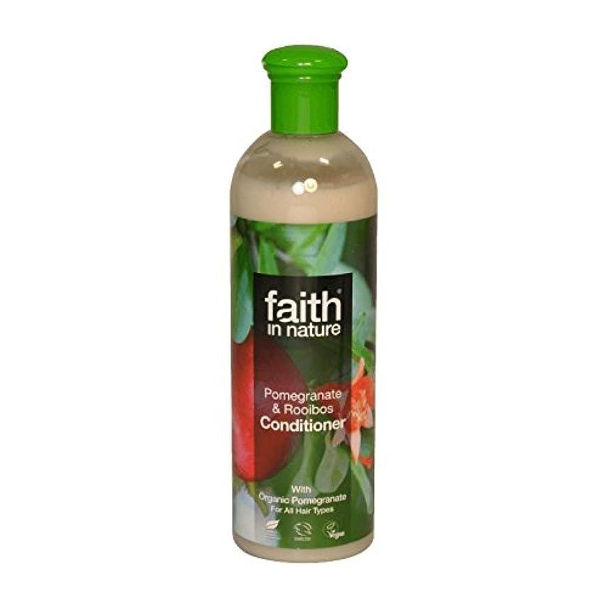 多様性上昇緑自然ザクロ&Roobiosコンディショナー400ミリリットルの信仰 - Faith in Nature Pomegranate & Roobios Conditioner 400ml (Faith in Nature)...