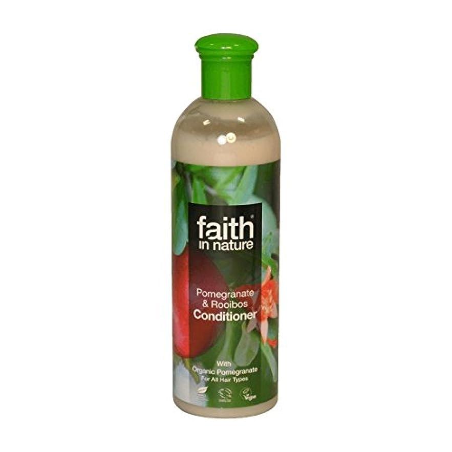 関税敵対的徐々にFaith in Nature Pomegranate & Roobios Conditioner 400ml (Pack of 2) - 自然ザクロ&Roobiosコンディショナー400ミリリットルの信仰 (x2) [...