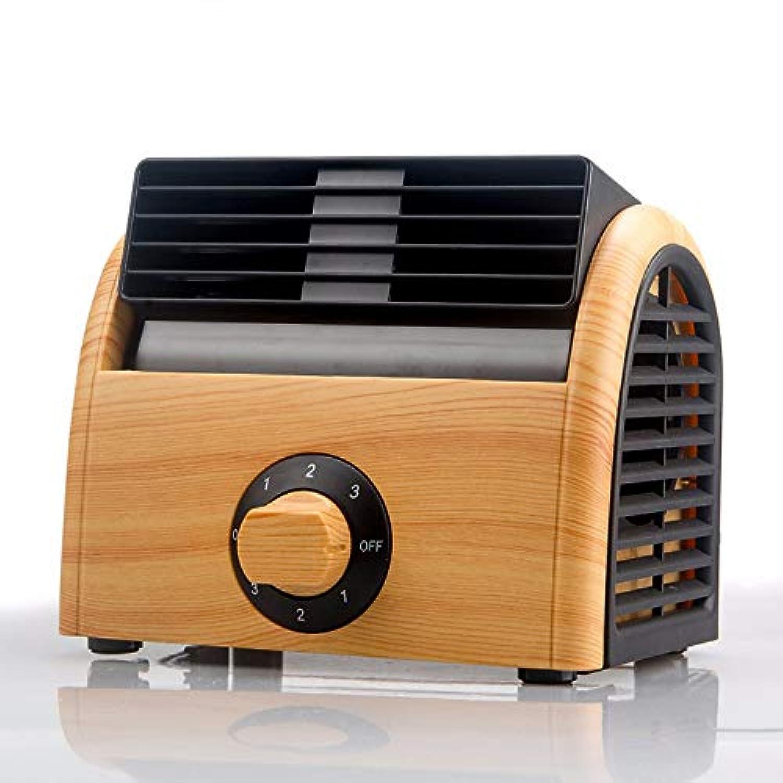ZZXIA-ポータブルエアコン ミニ扇風機小型扇風機冷凍寮エアコン静音無葉扇風機,エ