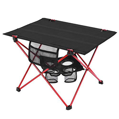 MOVTOTOP アウトドアテーブル 折りたたみ式 超軽量 高耐久性 アルミ製 キャンプテーブル オックスフォード...