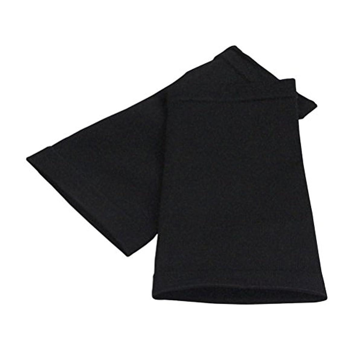 ROSENICE アームスリーブ スポーツフィットネス用シェイパースリーブプロテクティブアッパーアームシェイパースリーブの改良(黒)