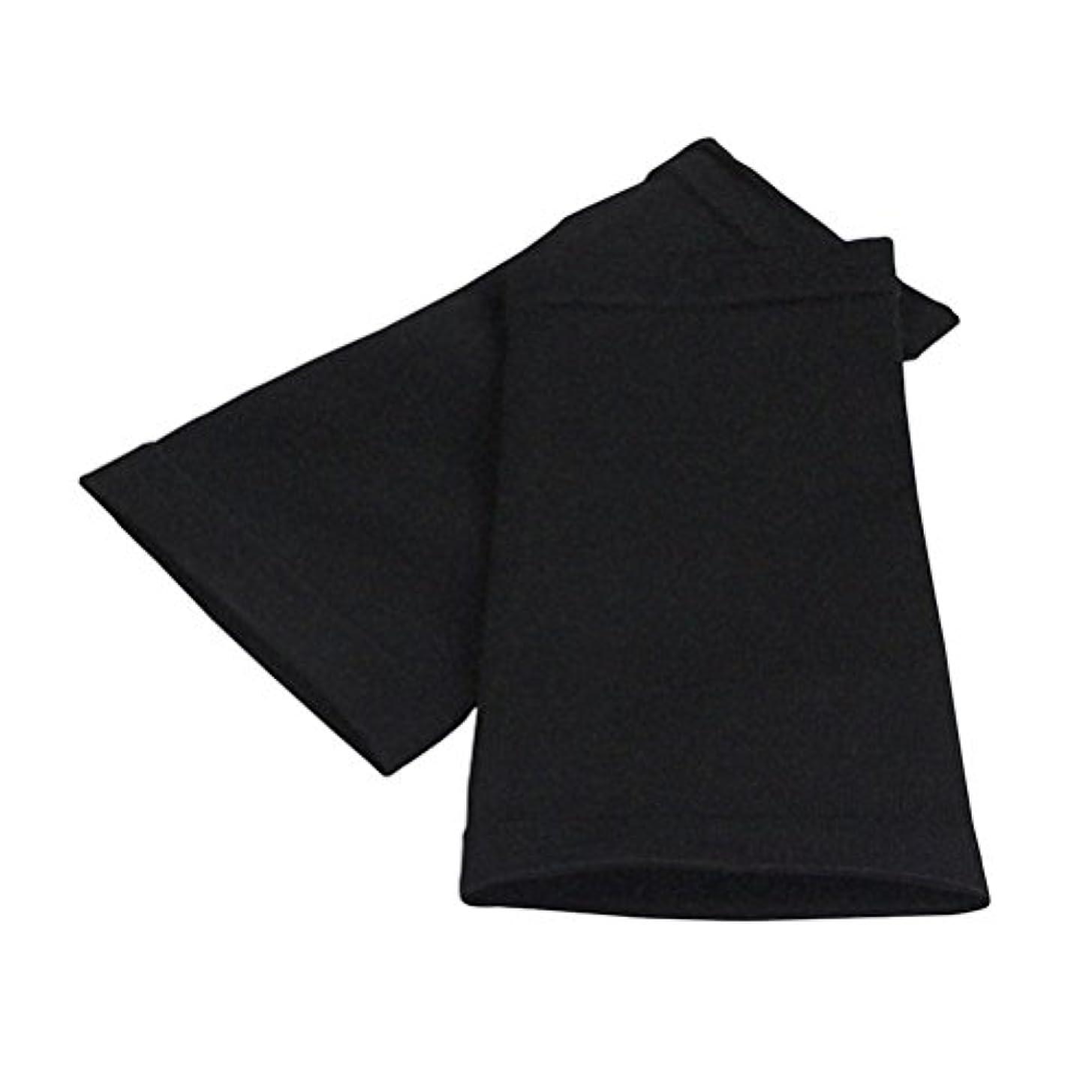 繊細スクレーパー平行ROSENICE アームスリーブ スポーツフィットネス用シェイパースリーブプロテクティブアッパーアームシェイパースリーブの改良(黒)
