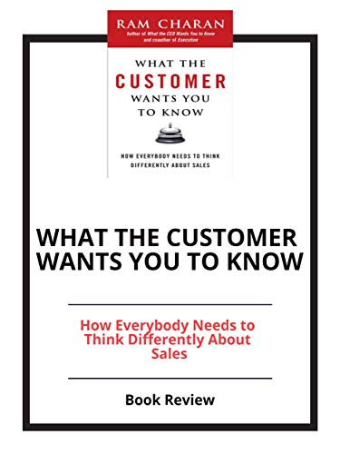 What the Customer Wants You to Know: Book Review (English Edition)