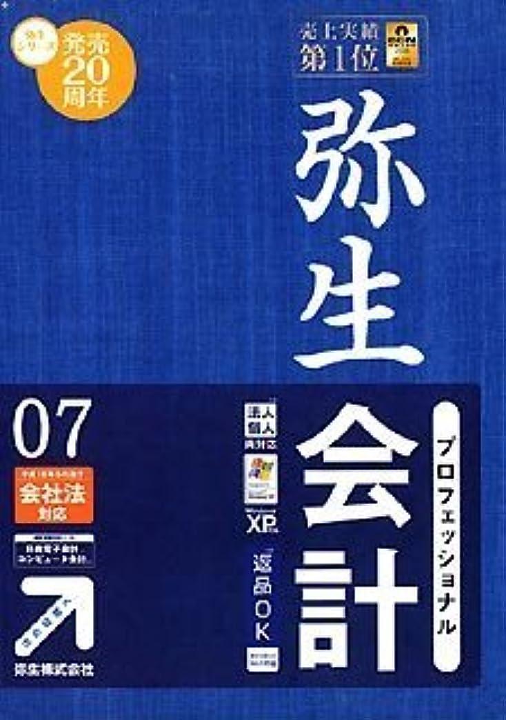 バイオリニスト誰はっきりしない【旧商品】弥生会計 07 プロフェッショナル