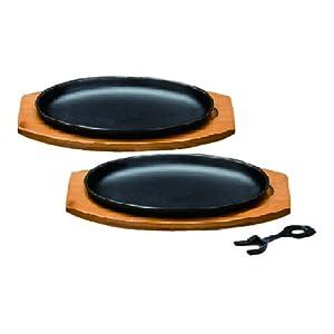 イシガキ産業 IH200V対応 大判ステーキ皿2P 3976