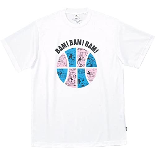 (ミズノ)MIZUNO バスケットボール UNISEX ジュニア プラクティスシャツ(半袖) W2JA4501 01 ホワイト S