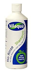 NoRinse(ノーリンス)液体タイプ Nilaqua(ニラクア)水がなくてもしっかり洗えるドライシャンプー 500ml
