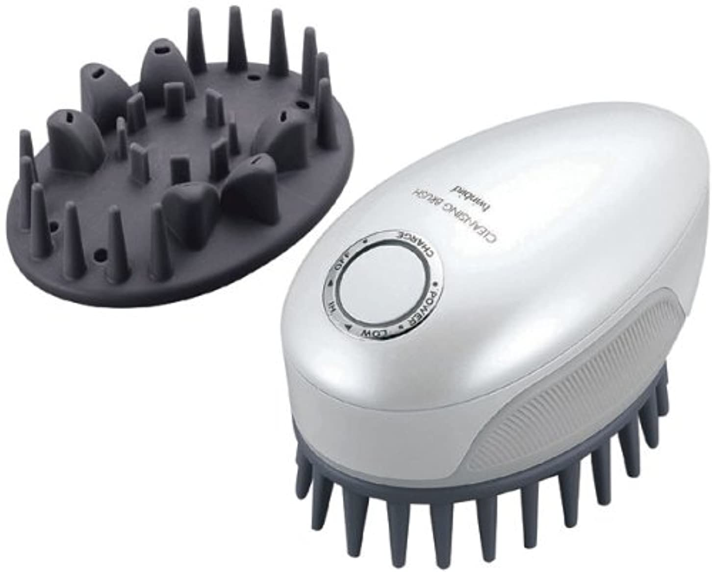 基準樹皮疫病TWINBIRD 頭皮洗浄ブラシ モミダッシュ PRO パールホワイト SH-2793PW