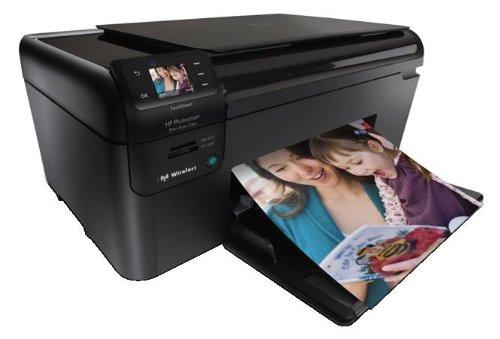 HP Photosmart 無線・タッチスクリーン搭載 黒顔料・4色独立インク A4インクジェット複合機 B109N
