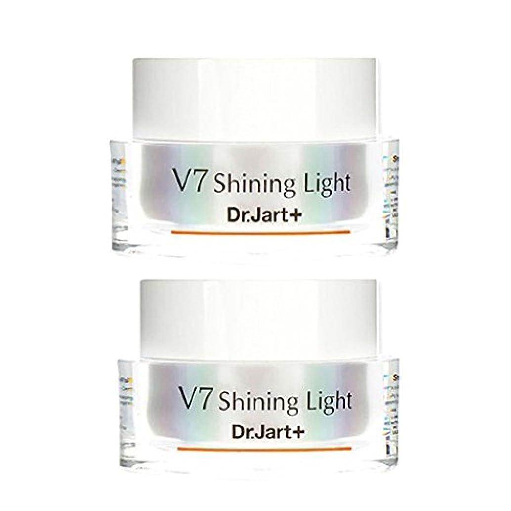 規制デイジー被害者ドクタージャルトゥ(Dr.Jart+) V7シャイニングライト?クリーム 50ml x 2本セット 、Dr.Jart+ V7 Shining Light Cream 50ml x 2ea Set [並行輸入品]
