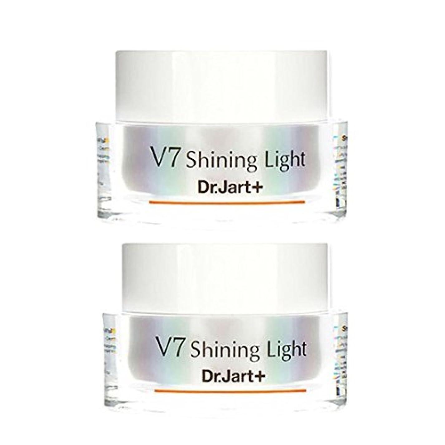 リアルいつも記述するドクタージャルトゥ(Dr.Jart+) V7シャイニングライト?クリーム 50ml x 2本セット 、Dr.Jart+ V7 Shining Light Cream 50ml x 2ea Set [並行輸入品]