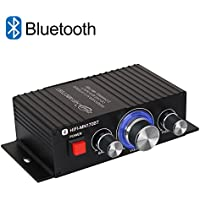 Bluetooth パワーアンプ TTMOW 高音質 高出力 Bluetooth対応 オーディオアンプ 重低音 Hi-Fiステレオデジタルアンプ 30W×2 アンプ スピーカー