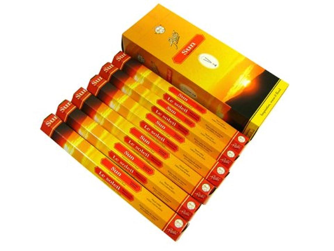 干し草ランダム協力するFLUTE(フルート) サン香 スティック SUN 6箱セット