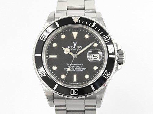 ロレックス ROLEX サブマリーナ 16800 ブラック文字盤 メンズ 腕時計 中古